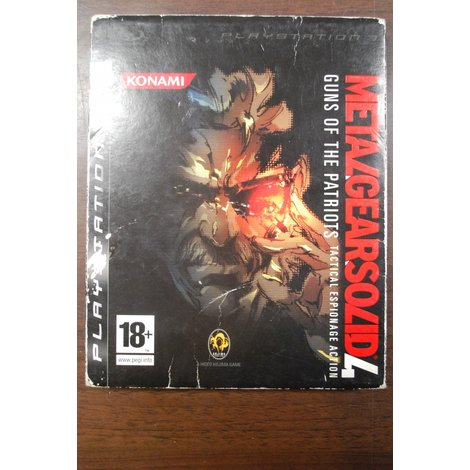 PS3 Game Metal Gear Solid4: Guns of the Patriots