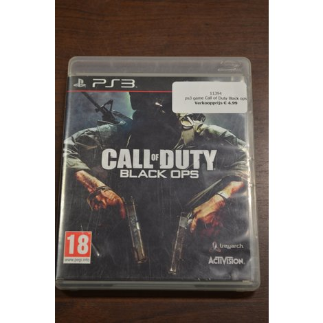 LOSSE DISC PS3 Game Call of duty black ops