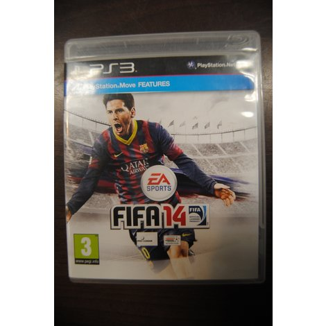 PS3 game FIFA 14