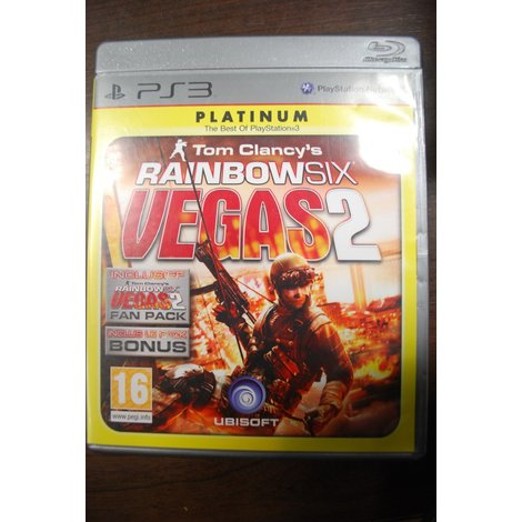 PS3 Game Rainbow Six Vegas 2