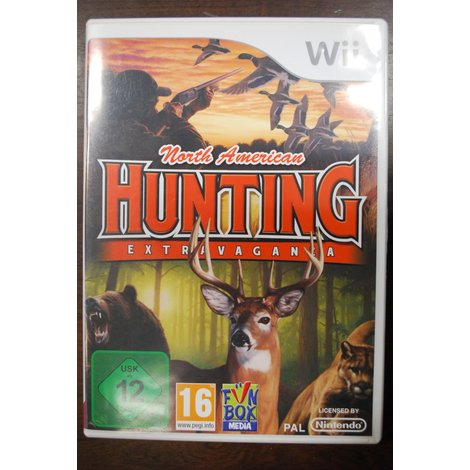 Wii game North America Hunting Extra Vaganza