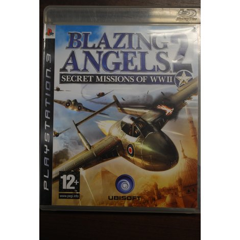 PS3 game Blazing Angels 2 Secret Missions of WWII