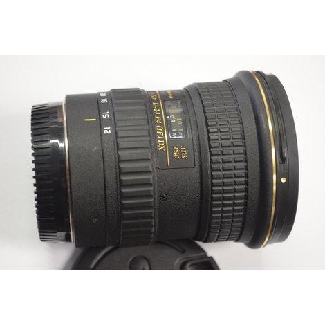 Tokina (Canon) lens AT-X SD 12-24 F4 (IF) DX incl. lensdoppen