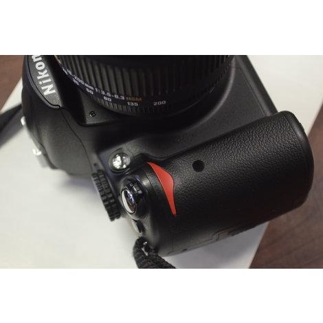 Keurige Nikon D5000 camera + Sigma DC 18-200mm 1:3.5-6.3 HSM lens - 6376 clicks - incl. cameratas, doppen, nekband, oplader en 1 accu