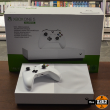 ZGAN IN DOOS: Xbox One S ALL DIGITAL - 1TB harde schijf incl. 1 controller