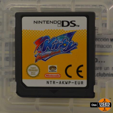 Nintendo DS game Kirby Mouse Attack incl. doosje/boekje
