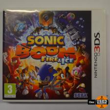 Nintendo 3DS Nintendo 3DS game Sonic Boom Fire & Ice incl. doosje/boekje