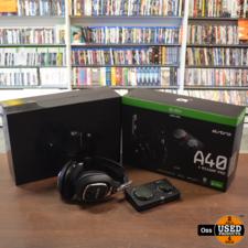 ZGAN IN DOOS: Astro A40 + MIXAMP Pro - incl. kabels/boekjes/doos -> voor XboxOne/PC