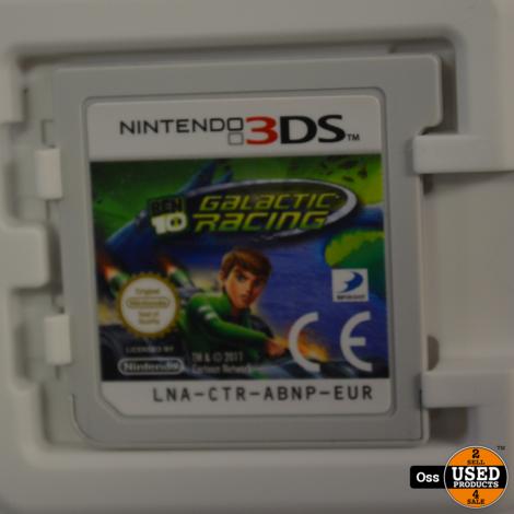 Nintendo 3DS game Galactic Racing (Ben 10) incl. doosje/boekje