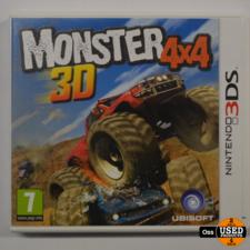 Nintendo 3DS Nintendo 3DS game Monster 4x4 3D incl. doosje/boekje
