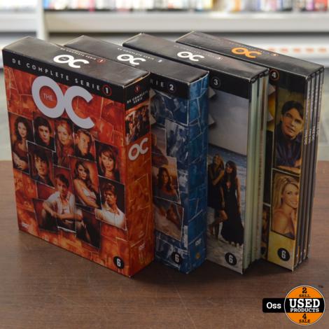 DVD boxen The OC seizoen 1 t/m 4 in nette conditie - Nederlands ondertiteld!