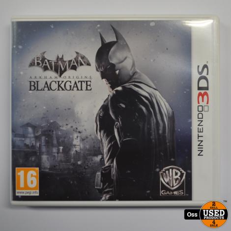 Nintendo 3DS game Batman Arkham Chronicles Blackgate - incl. doosje/boekje