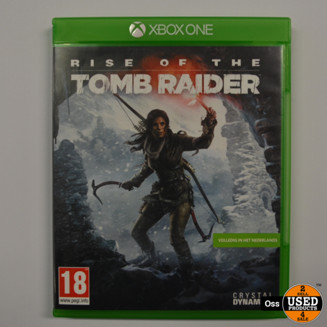 Xbox One game Rise of the Tombraider