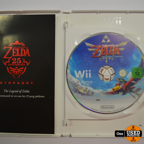 Nintendo Wii game The Legend of Zelda Skyward Sword
