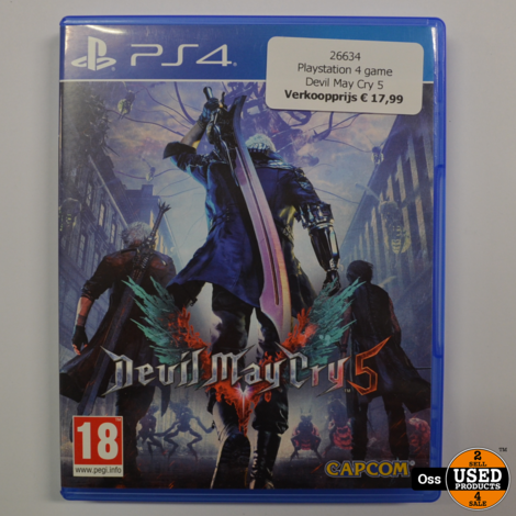 Playstation 4 game Devil May Cry 5