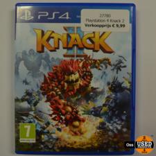 Playstation 4 game Knack 2 / Knack II
