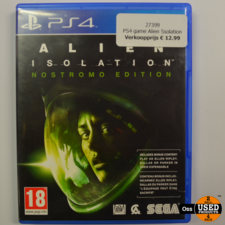 Playstation 4 game Alien Isolation