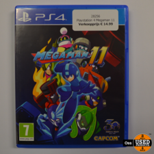 Playstation 4 game Megaman 11