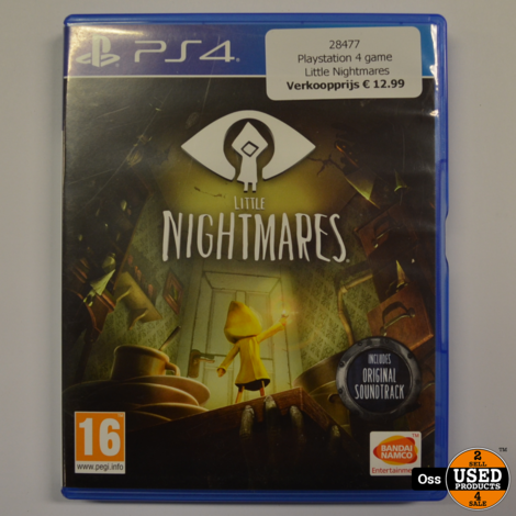 Playstation 4 game Little Nightmares