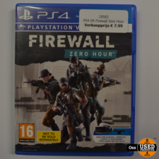 Playstation 4 game VR Firewall Zero Hour