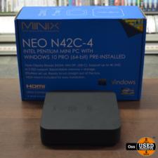Minix NEO N42C-4 Mini PC incl. adapter - Win10/4GB/120GB-SSD/Pentium-N4200