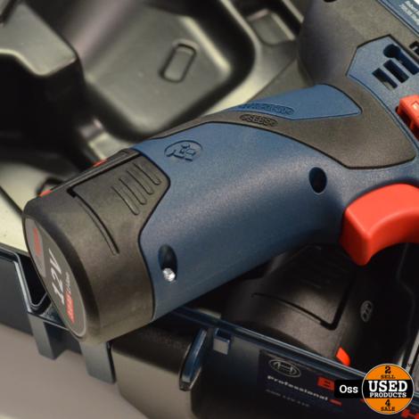 NIEUW IN KOFFER: Bosch Professional GDR 12V-110 Slagschroevendraaier incl. koffer, 2 accu's 12v 3.0Ah en acculader