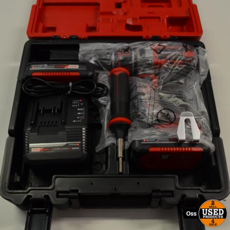 NIEUW IN KOFFER: Einhell TE-CD 18 Li BL Kit Brushless accuboormachine incl. lader en 2 accu's 18v 2.0Ah
