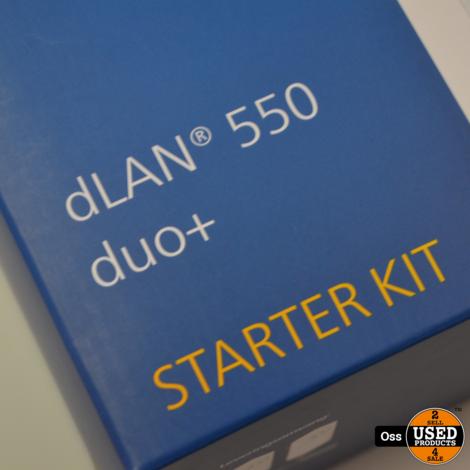NIEUW IN DOOS: Devolo Powerline LAN dLAN 550 duo+ - 2 stuks Powerline Adapters