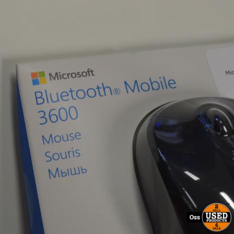 NIEUW IN DOOSJE: Microsoft Bluetooth Mobile 3600 computermuis