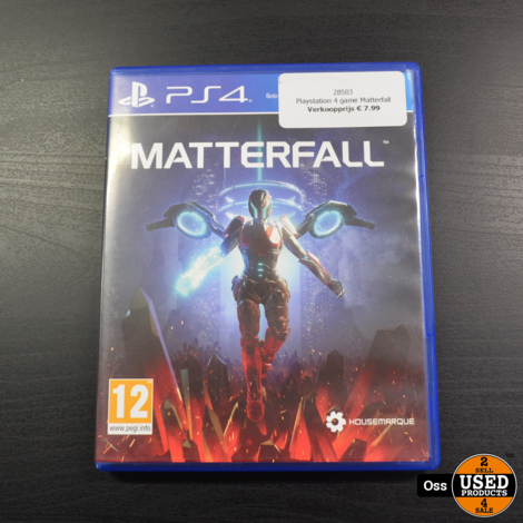 Playstation 4 game Matterfall
