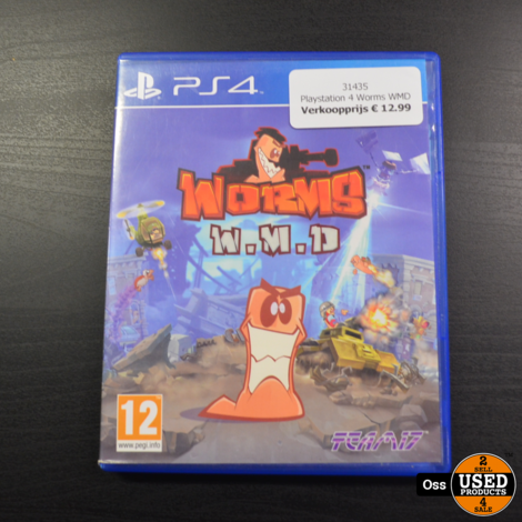 Playstation 4 game Worms WMD