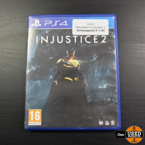 Playstation 4 game Injustice 2