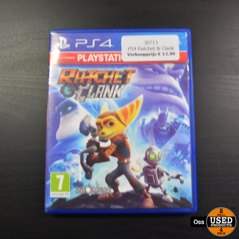 Playstation 4 game Ratchet & Clank