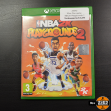 Xbox One game NBA2K Playgrounds 2