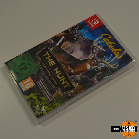 Nintendo Switch game Cabela's The Hunt incl. Hunting Rifle