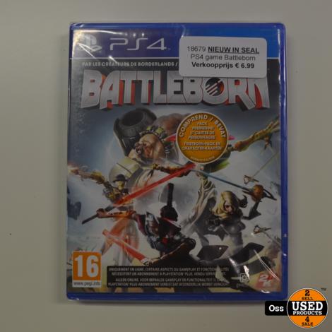 NIEUW IN SEAL Playstation 4 game Battleborn