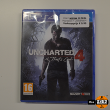 NIEUW IN SEAL: Playstation 4game Uncharted 4 - A Thief's End