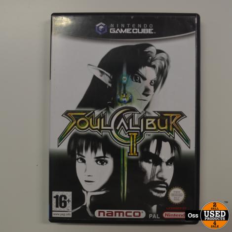 Nintendo Gamecube game Soulcalibur 2 / Soulcalibur II