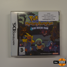 Nintendo DS game Pokemon Mystery Dungeon Blue Rescue Team