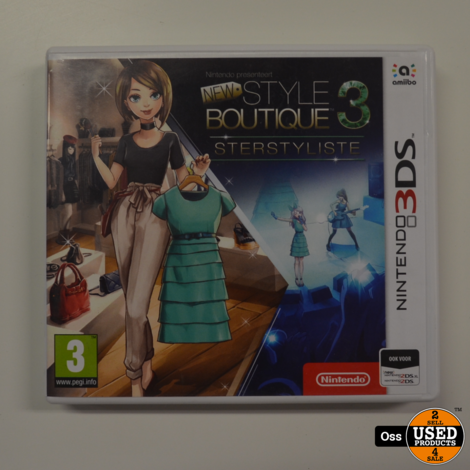Nintendo 3DS game New Style Boutique 3 Sterstyliste