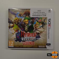 Nintendo 3DS game Hyrule Warriors Legends