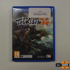 Playstation Vita game Toukiden 2
