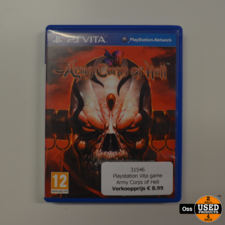 Playstation Vita game Army Corps of Hell