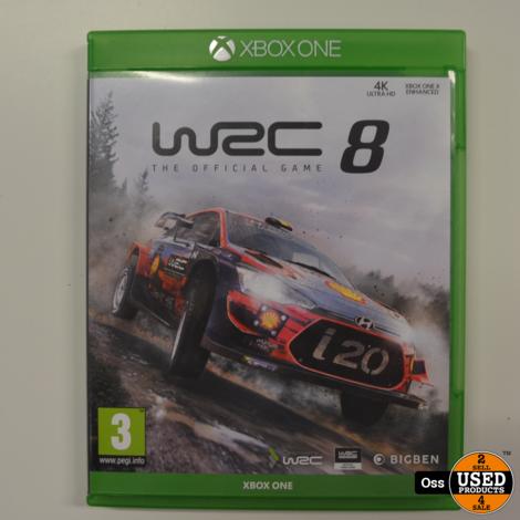 Xbox One game WRC 8