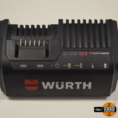 Wurth ABS 12 Compact schroefmachine in koffertas incl. lader en 2 accu's 12v 2A