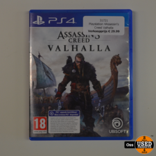 Playstation 4 game Assassin's Creed Valhalla