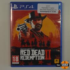 Playstation 4 game Red Dead Redemption II / RDR2 / Red Dead Redemption 2