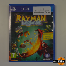 Playstation 4 game Rayman Legends