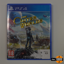Playstation 4 game The Outer Worlds