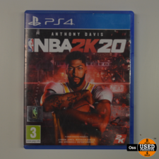 Playstation 4 game NBA 2K20 Basketball - hoesje iets minder mooi